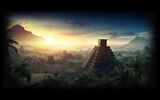 Deadfall Adventures Background Mayan Pyramid Background
