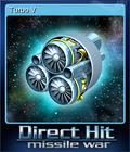 Direct Hit Missile War Card 1