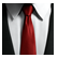 Hitman Absolution Emoticon Tie