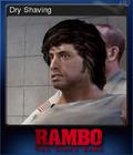 Rambo The Video Game Card 1