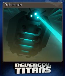 Revenge of the Titans Card 3