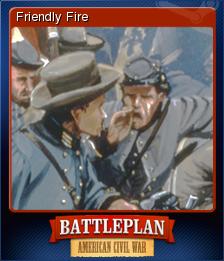 Battleplan American Civil War Card 6