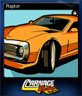 Carnage Racing Card 5