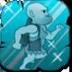 Caveman Craig Badge Foil