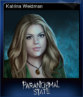 Paranormal State Poison Spring Card 5