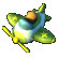 Super Toy Cars Emoticon toyplane