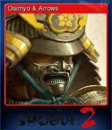 Total War SHOGUN 2 Card 1