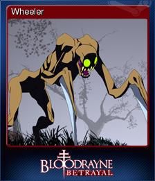 BloodRayne Betrayal Card 10