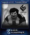 Cargo Commander Card 4
