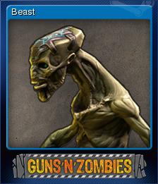 Guns n Zombies Card 6