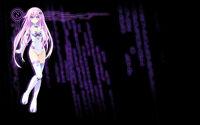 Hyperdimension Neptunia ReBirth2 Sisters Generation Background Purple Sister