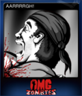 OMG Zombies Card 2