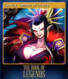 The Book of Legends Card 3