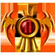 Warhammer 40,000 Dawn of War II Badge Foil