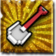 Ace of Spades Battle Builder Badge Foil