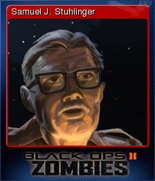 Call of Duty Black Ops II Zombies Card 3