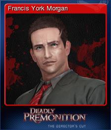 Deadly Premonition Directors Cut Card 1