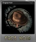 Face Noir Foil 7