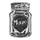 My Name is Mayo Badge Foil