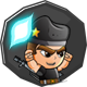 Zombie Wars Invasion Badge 3