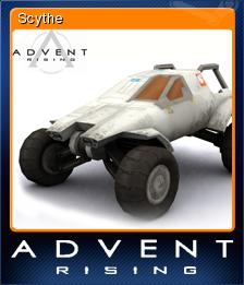 Advent Rising Card 07