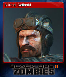 Call of Duty Black Ops II Zombies Card 5