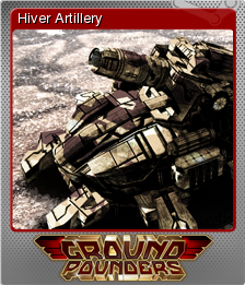 Ground Pounders Card 06 Foil