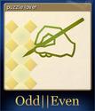 Odd Even Card 3