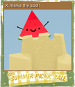 Summer Picnic Sale Foil 02