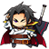 BlazBlue Chronophantasma Extend Emoticon Kagura