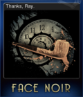 Face Noir Card 3