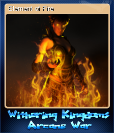 Withering Kingdom Arcane War Card 2