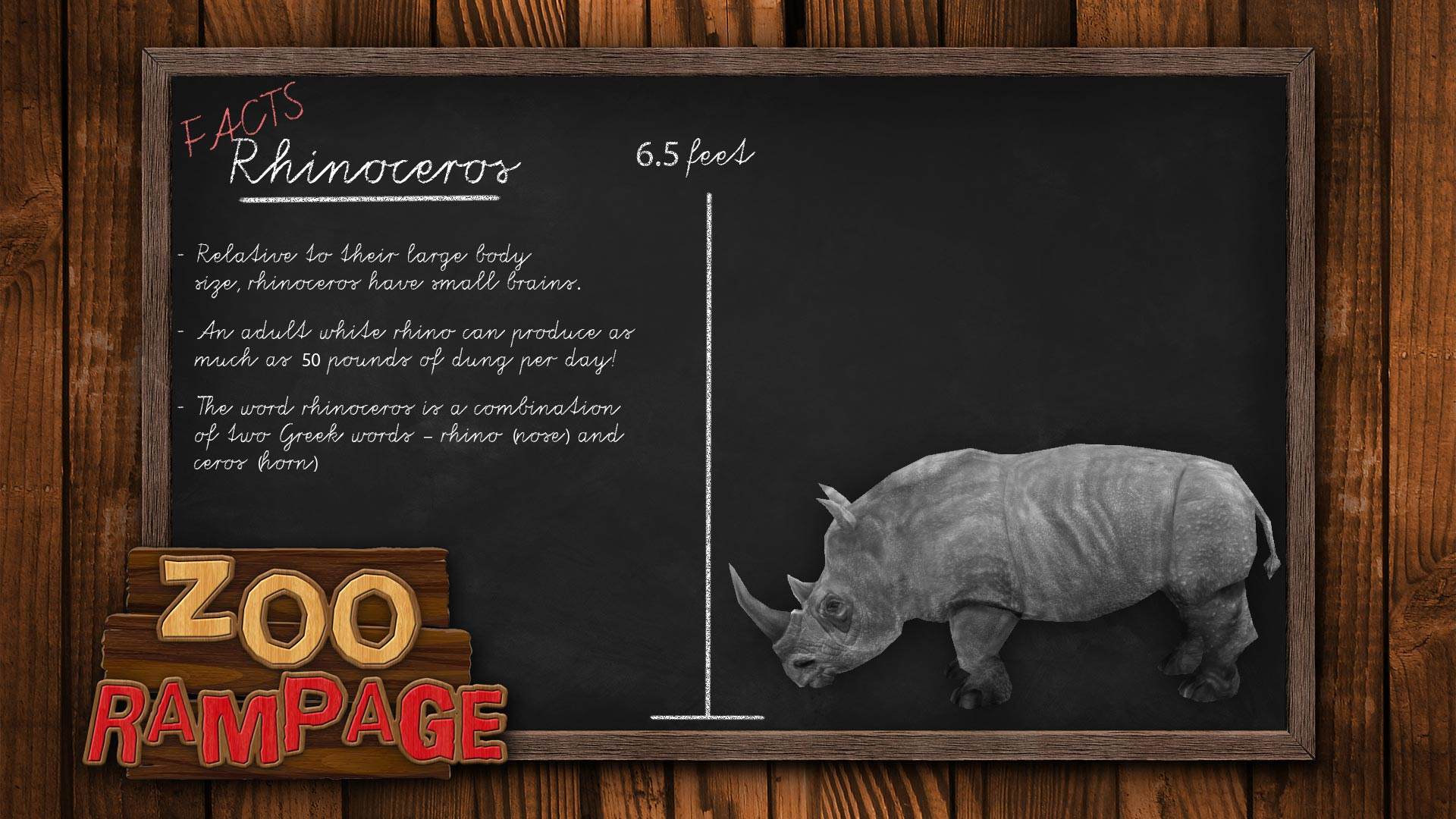 Zoo Rampage - Rhinoceros   Steam Trading Cards Wiki   FANDOM