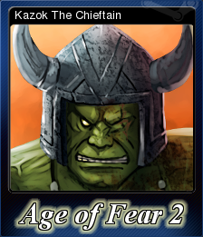 Age of Fear 2 The Chaos Lord Card 2