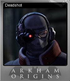 Batman Arkham Origins Foil 4