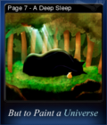 But to Paint a Universe Card 10