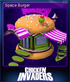Chicken Invaders 4 Card 1