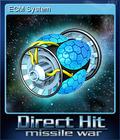 Direct Hit Missile War Card 6
