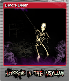 Horror in the Asylum Foil 1