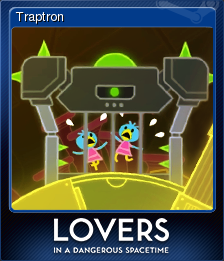 Lovers in a Dangerous Spacetime Card 2