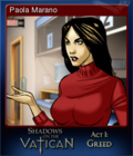 Shadows on the Vatican Act I Greed Card 6
