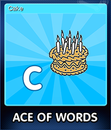 Ace Of Words Card 3