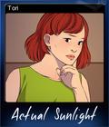 Actual Sunlight Card 5