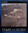 Time of Fury Card 2