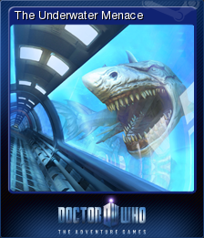 Doctor Who The Adventure Games Card 9