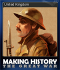 Making History The Great War Card 3