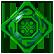 The Treasures of Montezuma 4 Emoticon green gem