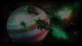 Foresight Background Sirerian Ships Orbit Jupiter