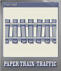 Paper Train Traffic Foil 4