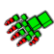 Dead Bits Emoticon AlienHand
